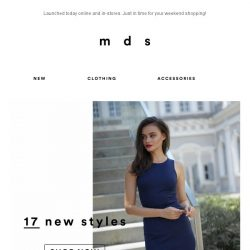 [MDS] Introducing: NEW ARRIVALS