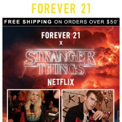 [FOREVER 21] Welcome to Hawkins | F21 x Stranger Things