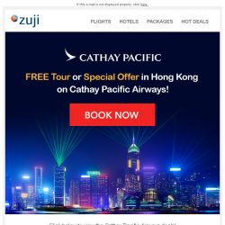 [Zuji] BQ.sg: FREE Tour in Hong Kong!