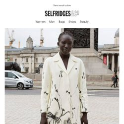[Selfridges & Co] We're appreciating art of the sartorial kind