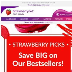 [StrawberryNet] , Save BIG on our Bestselling Strawberry Picks 🍓