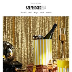 [Selfridges & Co] We're getting ready for some raucous celebrations