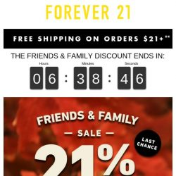 [FOREVER 21] GAH! SALE ENDS TONIGHT!