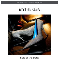 [mytheresa] 👠Shoe Club exclusive: shoes for sunset