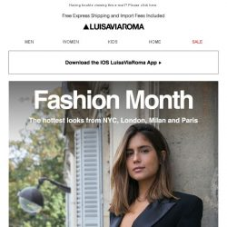 [LUISAVIAROMA] Fashion Month: The best trends from the streets