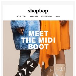 [Shopbop] Meet our new favorite boot