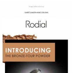 [RODIAL] The NEW Hybrid: Bronze-Tour Powder