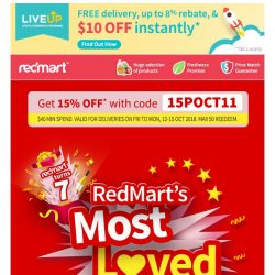[Redmart] ⭐️Customers' most loved?⭐️