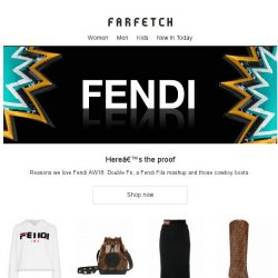 [Farfetch] These 16 pieces confirm why Fendi is our new wardrobe obsession