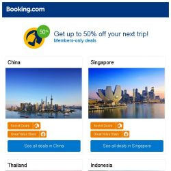 [Booking.com] Guangzhou, Singapore, or Bangkok? Get great deals, wherever you want to go