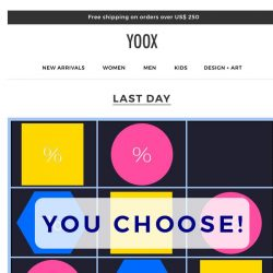 [Yoox] The higher the price, the bigger the markdown