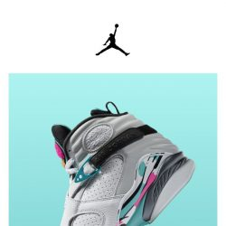 [Nike] Get it Now: Jordan 8 'South Beach'