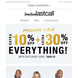 [Last Call] Labels you love >> extra 10% + 30% off