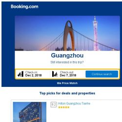 [Booking.com] Prices in Guangzhou dropped again – act now and save more!