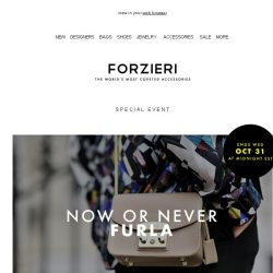 [Forzieri] Now or Never FURLA up to 50% OFF