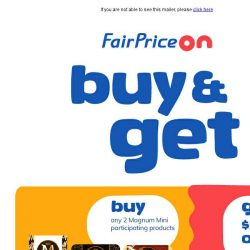 [Fairprice] 🎁 Exciting New Giveaways!