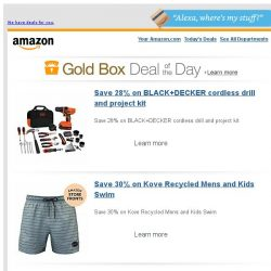 [Amazon] Save 28% on BLACK+DECKER cordless drill and...
