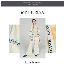 [mytheresa] How to style: cozy cardigans + last day: free shipping