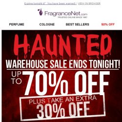 [FragranceNet] Prices so low it's scary (+EXTRA 30% OFF)