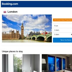 [Booking.com] Deals in London from S$ 33