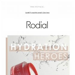 [RODIAL] Get Ahead Of The Hydration Game
