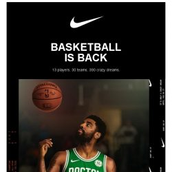 [Nike] NBA Basketball is Back