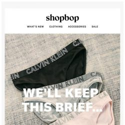 [Shopbop] Because you wear these 7 days a week…