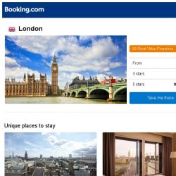 [Booking.com] Deals in London from S$ 48