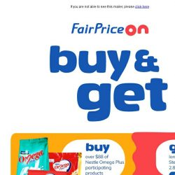 [Fairprice] Dishing Up Dining Related Free Gifts
