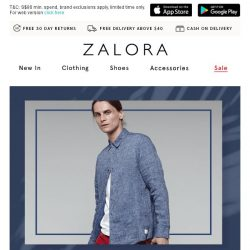 [Zalora] Happy Pay-YAY! Get 20% Off Sitewide 🎁