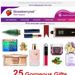[StrawberryNet] 🎄🎁 25 Gorgeous Gifts You Must Buy this Christmas!