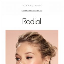 [RODIAL] Your Guide To The No-Makeup Makeup Look