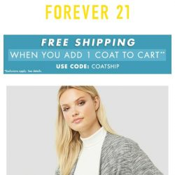 [FOREVER 21] Fall Picks for the Perfect Price!