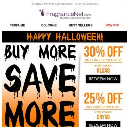 [FragranceNet] Buy more, save more | Up to 30% off!
