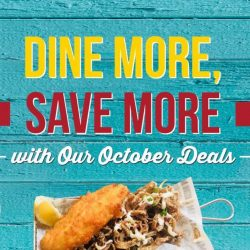 The Manhattan FISH MARKET: Enjoy a Sea-licious Meal from $8.90 with October e-Coupons!