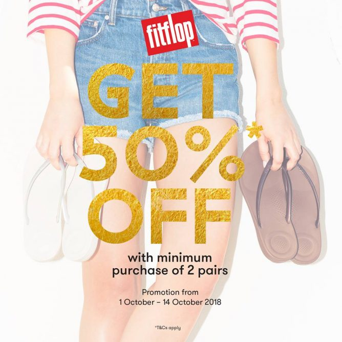 4a197875b FitFlop  Enjoy 50% OFF with Minimum Purchase of 2 Regular-Priced ...