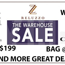 Reluzzo: Crazy Warehouse Sale with Clearance Prices on Bags & Wallets from Coach, Michael Kors, Love Moschino & More!