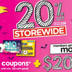 Watsons: Weekend 2-Day Only Storewide Sales @ 20% OFF + Member Only $40 COUPON Giveaway