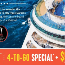 Royal Caribbean: Roadshow with Kids Cruise FREE, 4-To-Go Special & $50 OFF Offers