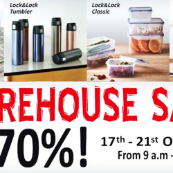 Lock & Lock: Warehouse Sale with Up to 70% OFF Cookware, Containers, Tumblers & More