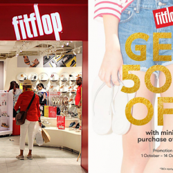 e50204259 FitFlop  Enjoy 50% OFF with Minimum Purchase of 2 Regular-Priced Items!