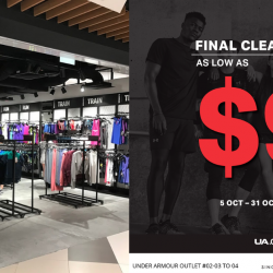 Under Armour: Outlet Final Clearance As Low As $9 at IMM Outlet Mall!