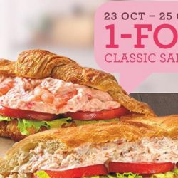 Delifrance: Enjoy 1-for-1 Classic Sandwich at All Delifrance Outlets!