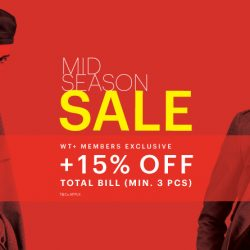 G2000: Mid Season Sale + wt+ Members Get Additional 15% OFF Final Bill!