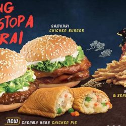 McDonald's: Samurai Burgers are Back with Roasted Sesame & Seaweed Shaker Fries & the NEW Creamy Herb Chicken Pie!
