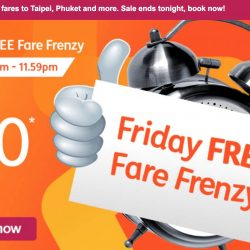 Jetstar: Friday FREE Fare Frenzy with $0 Fares to Taipei, Phuket, Surabaya & More!