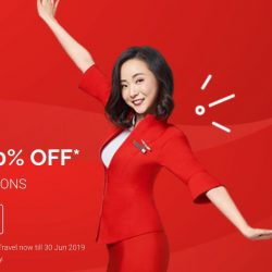 AirAsia: Sale with Up to 70% OFF ALL Destinations!