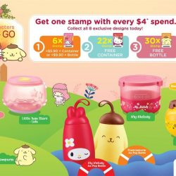 7-Eleven: Collect the New Sanrio Lock & Go Containers and Bottle Characters Before They Are Gone!