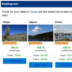 [Booking.com] Prices in Tilcara dropped again – act now and save more!