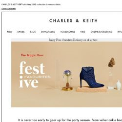 [Charles & Keith] Gear up for the party season in these festive favourites